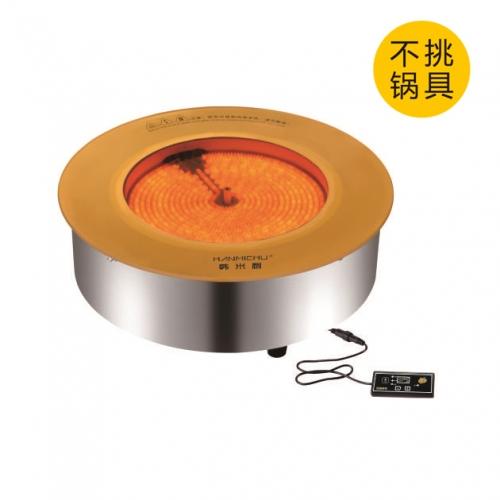 H5-φ245-1500W钛晶板
